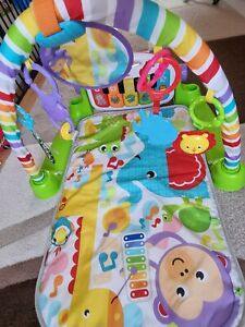 Fisher-Price Kick and Play Piano Gym play mat