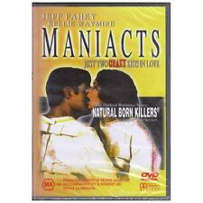 DVD MANIACTS Jeff Fahey Kellie Waymire Action Comedy Drama ALL PAL REGIONS [BNS]
