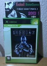 Las Cronicas de Riddick : La fuga de Butcher Bay / XBOX / Completo - PAL ESP.