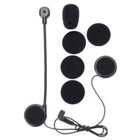 Microphone Speaker Soft Cable Headset Accessory for Freedconn Motorcycle !