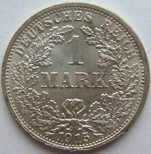 Top! 1 Mark 1915 F IN Uncirculated