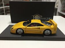 FERRARI F40 Top Marques Yellow 1/18 Limited Ed 250 pcs