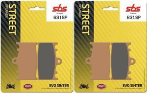 Husaberg FS 650 e / fs 650 c 01 - 05 SBS Front Evo Sinter Brake Pads Set 631SP