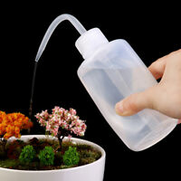 250ml Large Squeeze Transparent Water Bottle Liquid Container Water Sprayer