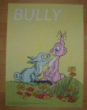 Bully concert gig poster print Chicago 2016 1-16-16 fugscreens