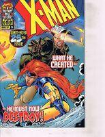 Lot Of 8 X-Man Marvel Comic Book #25 26 27 28 29 30 31 32 Iron Man  AH8