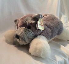 "Schnauzer 18""  Aurora Plush Soft Stuffed Plush Animal ""KAISER"" NWT"