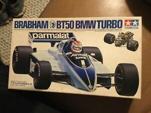 Brabham BT50 BMW Turbo Driver Figure 1/20 Tamiya