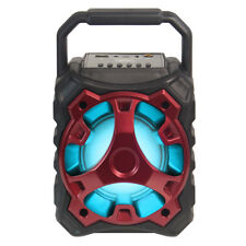 Bluetooth Wireless Rechargeable Multimedia Speaker Mic Input USB TF BLADE10 Red