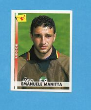 PANINI CALCIATORI 2000/2001- Figurina n.216- MANITTA - LECCE -NEW