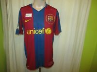 "FC Barcelona Nike Heim Trikot 2007 ""Camp Nou 1957-2007"" + ""unicef"" Gr.L TOP"