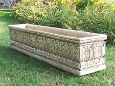 Blumenkasten Pflanzkasten Schale Pflanzgefäß  Gartendekoration Marmor Art.357/TU