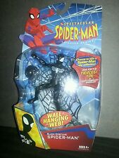 Spectacular Spider-Man Black Costume Action Figure Ships From USA RARE UNOPENED