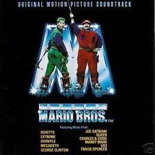 SUPER MARIO BROTHERS: SOUNDTRACK– 12 TRK CD, BROS, MARKY MARK, ROXETTE, MEGADETH