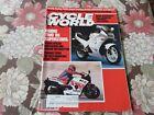 CYCLE WORLD Magazine,February 86 Suzuki GSX-R1100 RM250,Yamaha FZ600,Harley FXRD