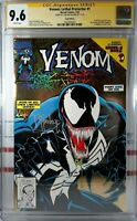 🌟 CGC 9.6 NM+ VENOM LETHAL PROTECTOR #1 GOLD FOIL VARIANT SIGNED TODD MCFARLANE
