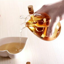 2 Outlets Kitchen Glass Oil Dispenser Jar Vinegar Bottle Pot Kitchen Sauce Cruet
