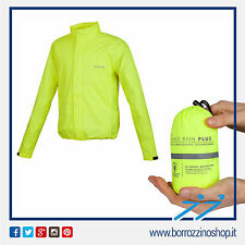 GIACCA ANTIPIOGGIA NANO RAIN JACKET PLUS SUPERCOMPATTABILE GIALLO 765-YF TG. 3XL