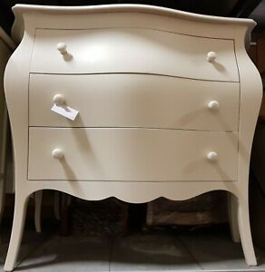 Dresser '11251 With 3 Drawers CMS 100x42x85H, Various Colors (Gold - Silver -