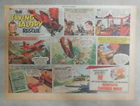 Nabisco Cereal Ad: Flying Jalopy ! Shredded Wheat 1940's Size: 7 x 10 inches