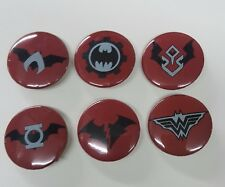 Batman Dark Nights Metal 6 Button / Pin Promo Set  Red Death Drowned + More! NEW