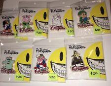 Ron English Popaganda Cereal Killers Enamel Pin Lot Of 7 New Urban Art NYC