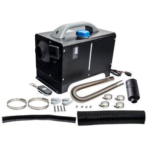 Standheizung Lufterhitzer 5KW Diesel LCD-Schalter Wohnmobil Caravan Schwarz