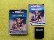 MUSIC COMPOSER - commodore 64 - cartridge