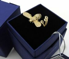 Authentic Swarovski Gold Plated LISABEL Bumblebee Ring Size 55 US 7
