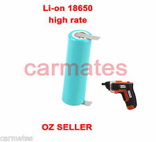Drill Battery Li-ion 18650 3.6V for Black decker KC460LN CS3651LC-GB Screwdriver