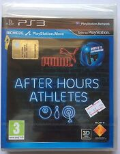 After hours athletes Puma ps3 SEALED 1a Edition Italian Shipping 48 H