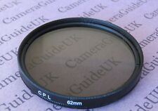 CPL 62mm Polarising Filter For Panasonic,Sigma,Samsung,FujiFilm,Nikon,Sony Lens