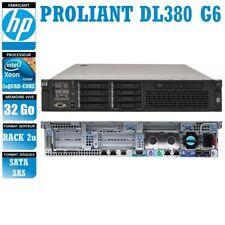 "SERVEUR HP Proliant DL380 G6 2 x Xeon Quad Core X5550 32 Gigas 2.5"" Rack 2U"