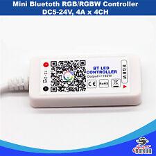 Mini Bluetooth RGB/RGBW Controller DC5-24V, 4A x 4CH