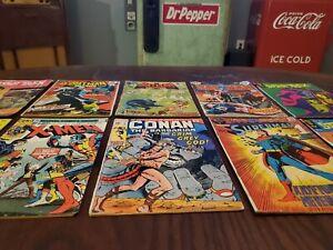 Bronze Age Lot!! X-men, Batman, Star Trek, Conan and more!!!