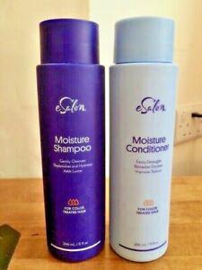 eSalon Moisture Shampoo + Conditioner For Colour Treated Hair 266ml each RRP £26