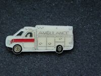 VINTAGE METAL PIN AMBULANCE