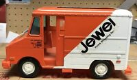 Vintage Jewel Tea Home Shopping Service Orange White Delivery Truck