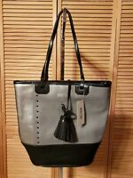 REACTION KENNETH COLE HANDBAG / TOTE FOG RETAIL IS 100.00