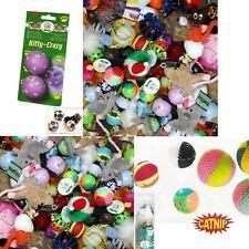30 Teile Katzenspielzeug Sortiment aus Bällen, Mäusen, Catnip Spielzeug  usw.