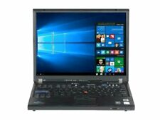 "COMPUTER NOTEBOOK PORTATILE LENOVO THINKPAD T60 14"" DUAL CORE RAM 2GB HDD 80GB"