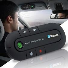 Wireless Bluetooth HandsFree Car Kit Multipoint Speakerphone Speaker Visor Clip.