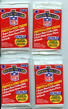 Pro Set 1989 NFL Football Series 1 Trading 4 Pack LotAmricons