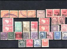 Brazil  32pc old stamps collection mint-used