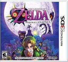 The Legend Of Zelda: Majora's Mask 3D [Nintendo 3DS, Link Action Adventure] NEW