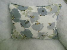 "ROMO FABRIC CAMILLE OBLONG CUSHION  20"" X 14 ""(51 CM X 36 CM) LINEN/COTTON MIX"
