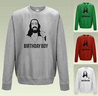 JESUS BIRTHDAY BOY Christmas Jumper Sweatshirt JH030 Slogan Sweater Funny Xmas
