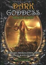 New 48 Dark Goddess Oracle Gothic Tarot Silver Gilded Cards Deck With Guidebook