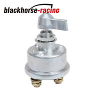 1pc Master Battery Disconnect Switch kill 2post SPST kill cut off nascar ON OFF