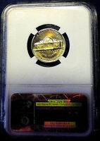 1961 NGC PF 66 JEFFERSON PROOF NICKEL! **MAGNIFICENT GOLD TONED**!